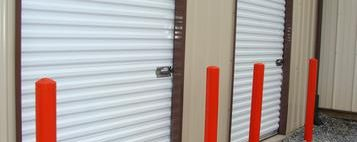 storage building 7ft doors