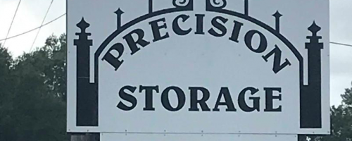 precision storage sign
